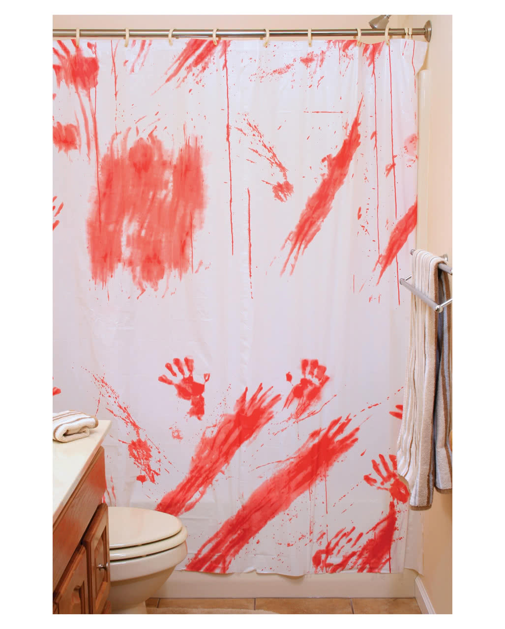 Halloween shower curtain - Bloody Shower Curtain