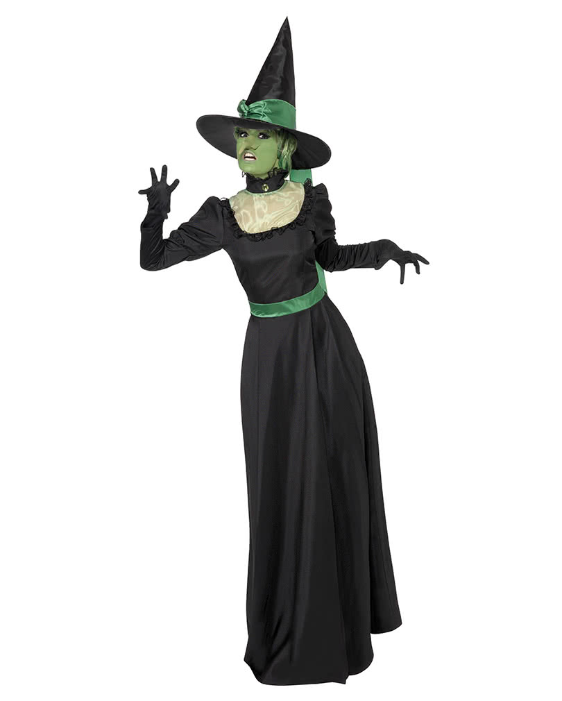 Wicked Witch Costume Black-Green I Black Magic and a Green ...