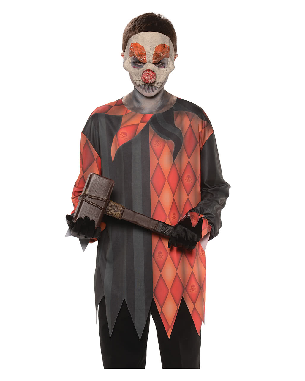 Wicked Clown Kids Shirt For Halloween costumes | horror-shop.com