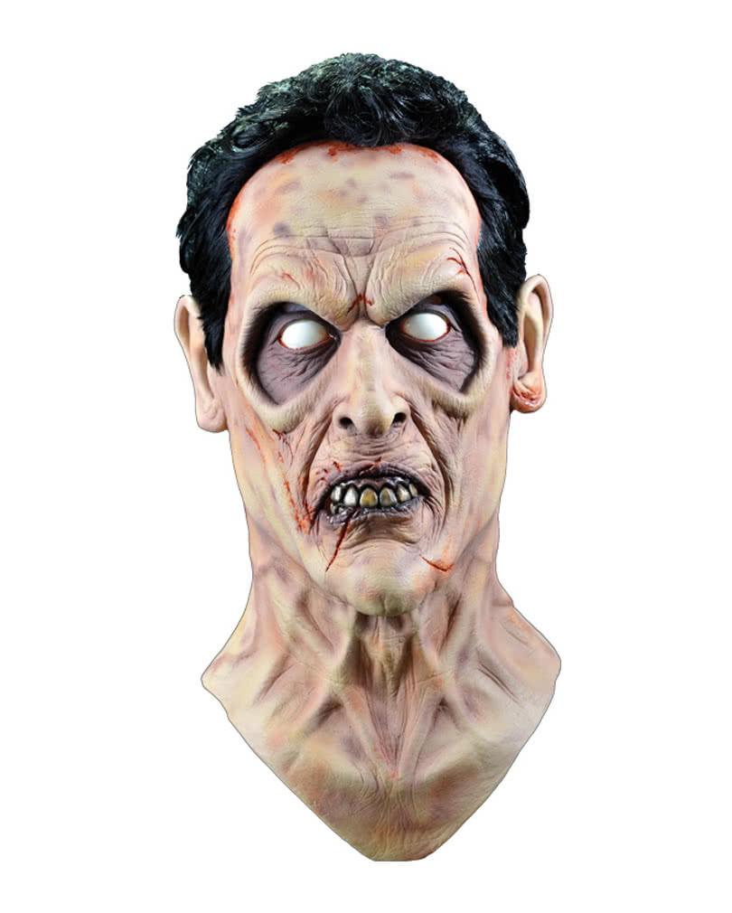 Evil Dead Mask Ash Deluxe   Bruce Campbell Mask   horror-shop.com
