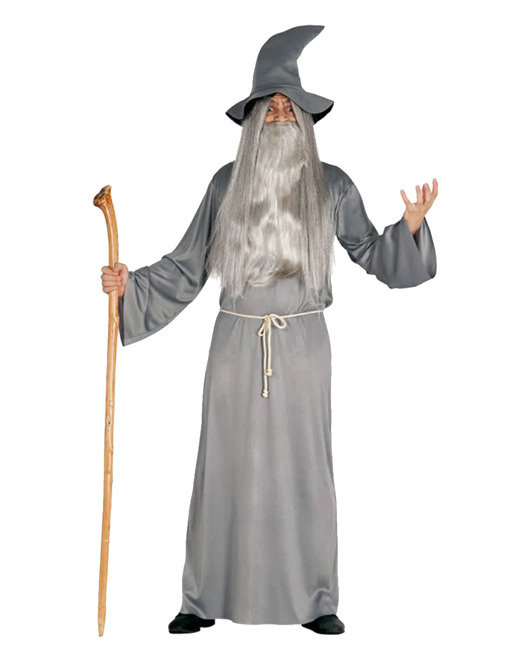 Fantasy wizard costume with hat | Weiser Warlock | horror-shop.com