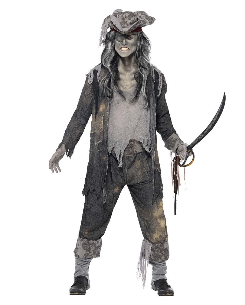 Ghost Pirate Costume XL | Zombie pirates look | horror-shop.com