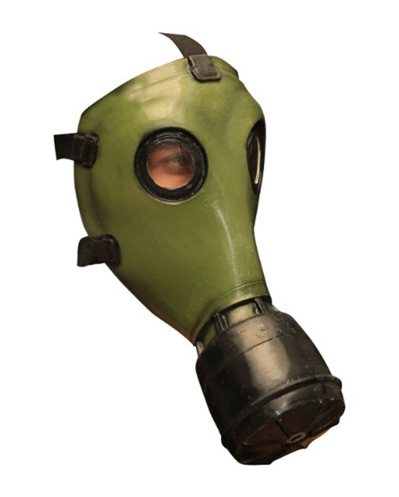 GP-5 Gas Mask Green | Realistic gas masks made of latex | horror ...