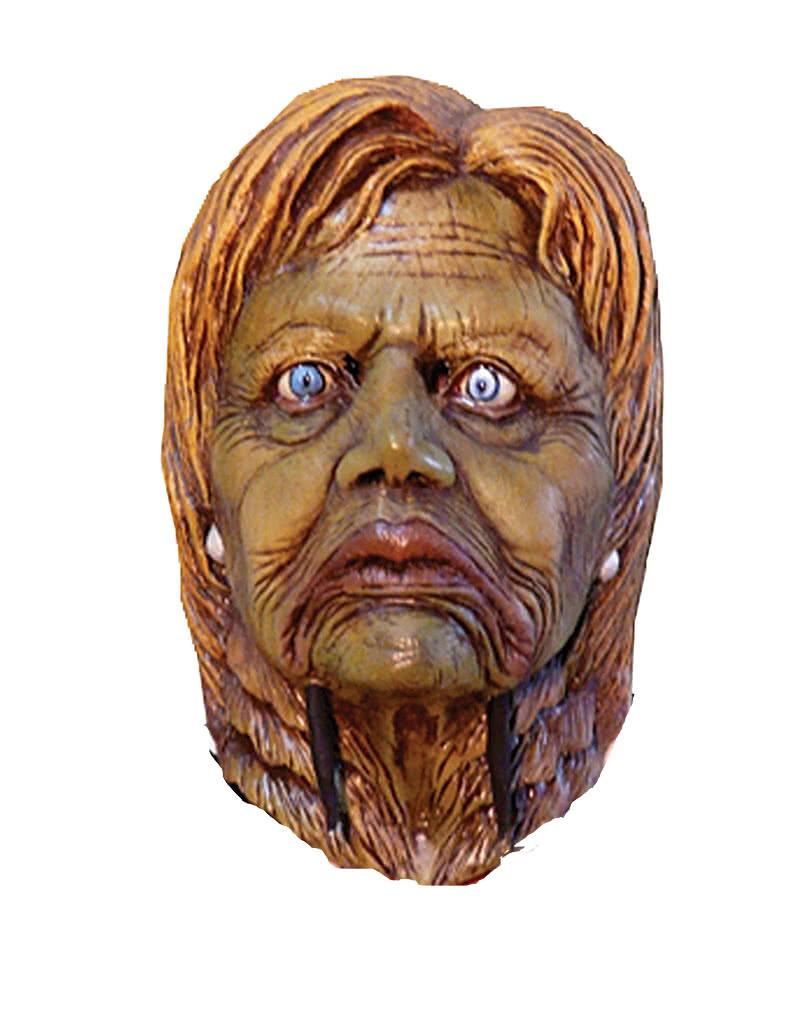 Hillary latex mask   Politicians masks & costumes   horror-shop.com