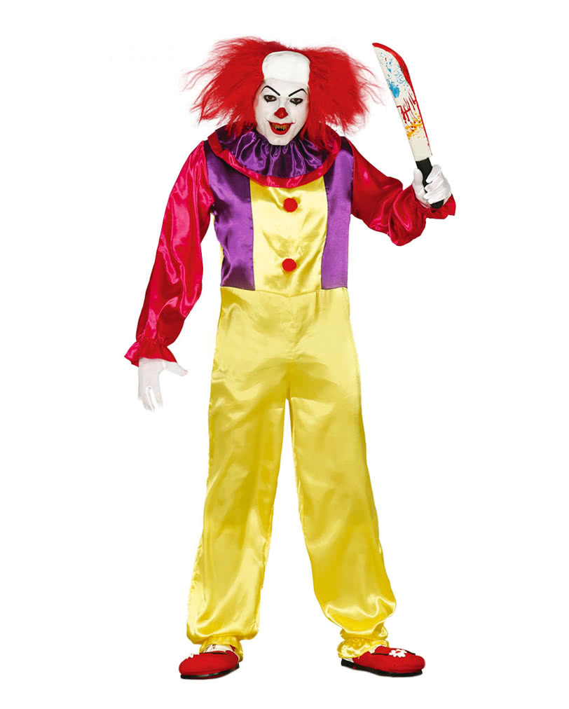 Killer Clown Costume | Clown costume at low prices | horror-shop.com