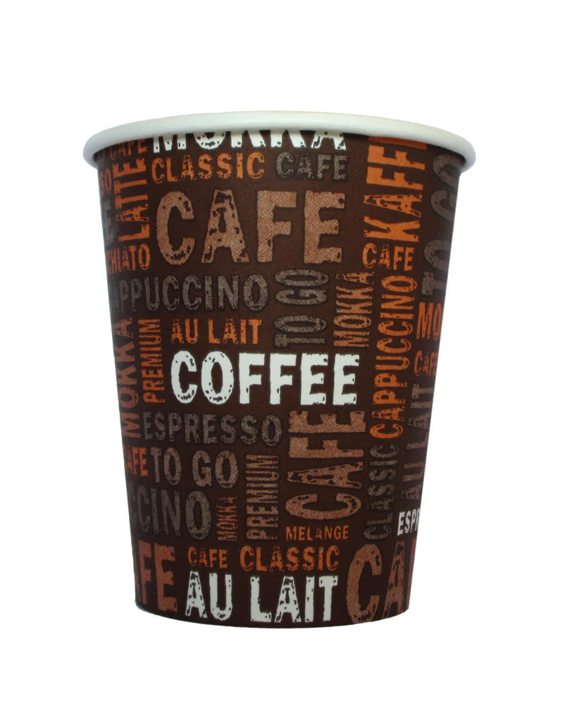Cardboard coffee cups