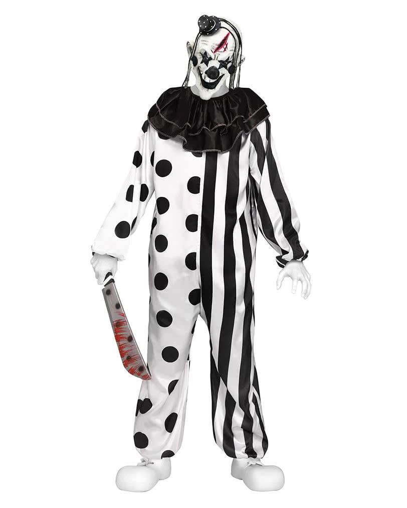 Killer Clown Teenager Costume As Halloween disguise | horror-shop.com