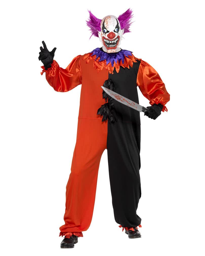 Killer Clown Costume Bo Bo | Devilish clown as a circus costume ...