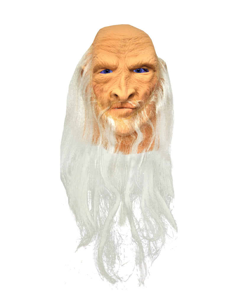 Merlin Latex Mask | Wizards & Magicians mask | horror-shop.com