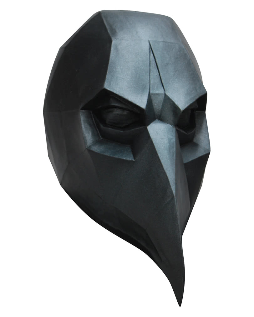 Low poly mask Crow | Halloween full mask made of latex | horror ...