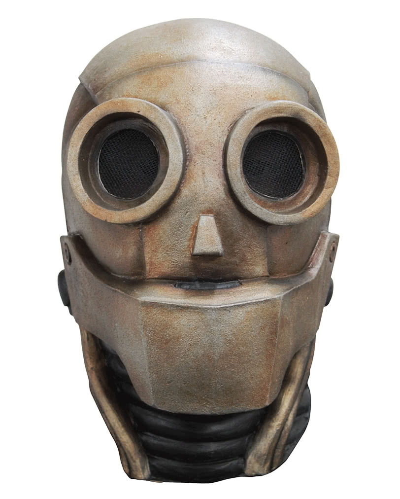 Robot Latex Mask | Sci-Fi Halloween mask | horror-shop.com