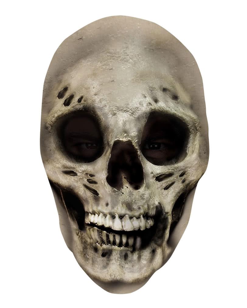 Pale Skull Half Mask Half Masks Horror Masks Latex Half Half Masks ...