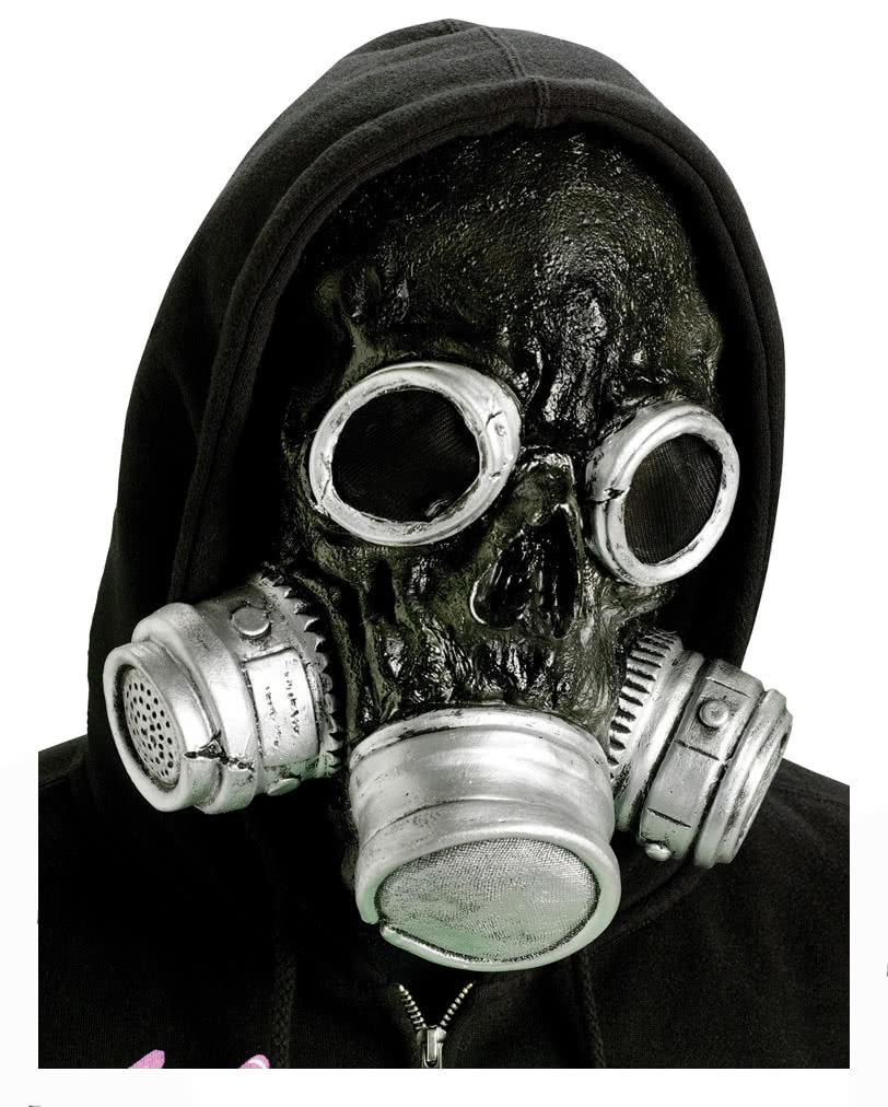 Zombie Gas Mask Black | Buy Cheap gas masks now online | horror ...