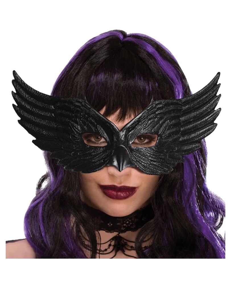 Black Raven Mask | Venetian mask Mr. | horror-shop.com