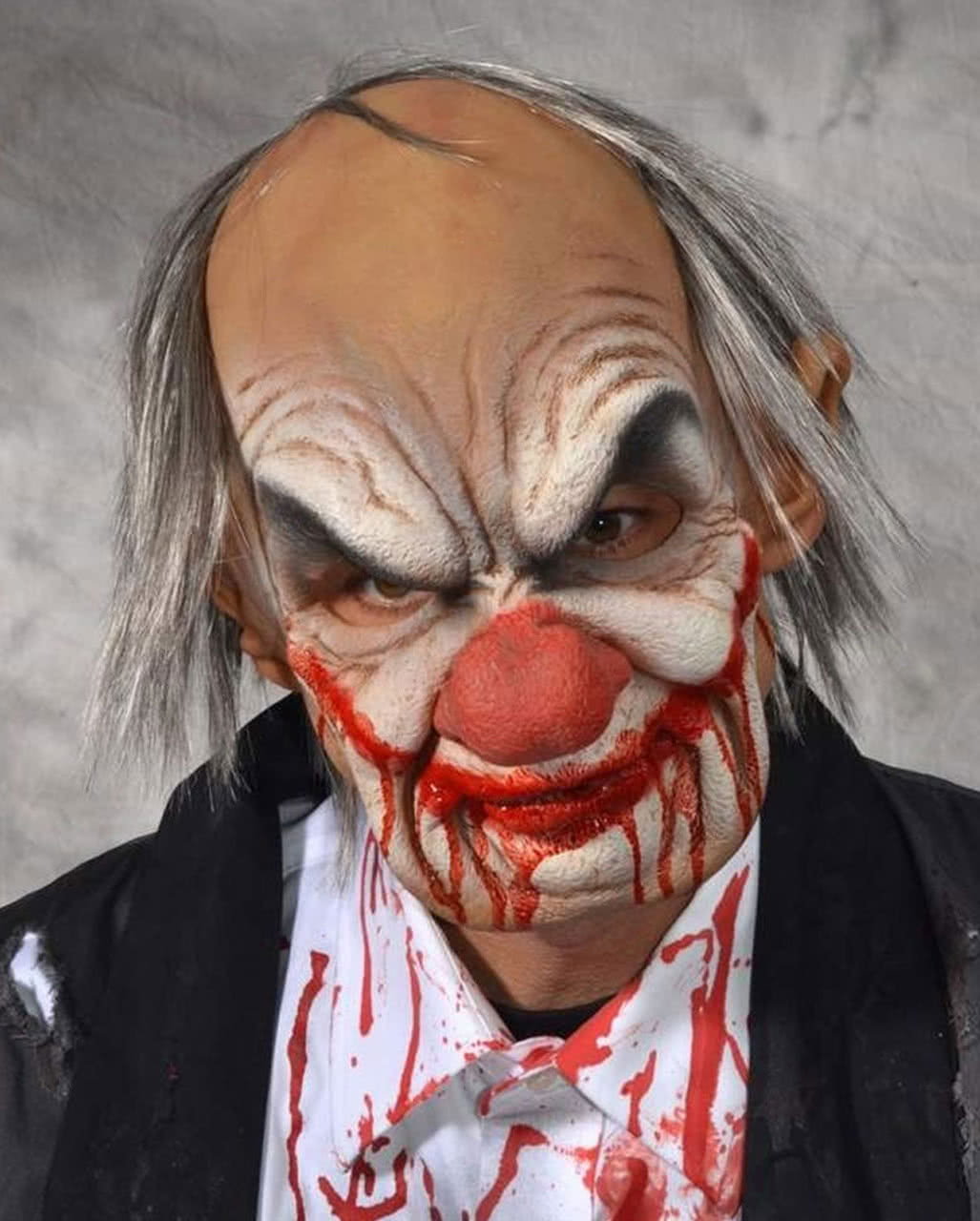 Smiley Horrorclown Mask For Halloween | horror-shop.com