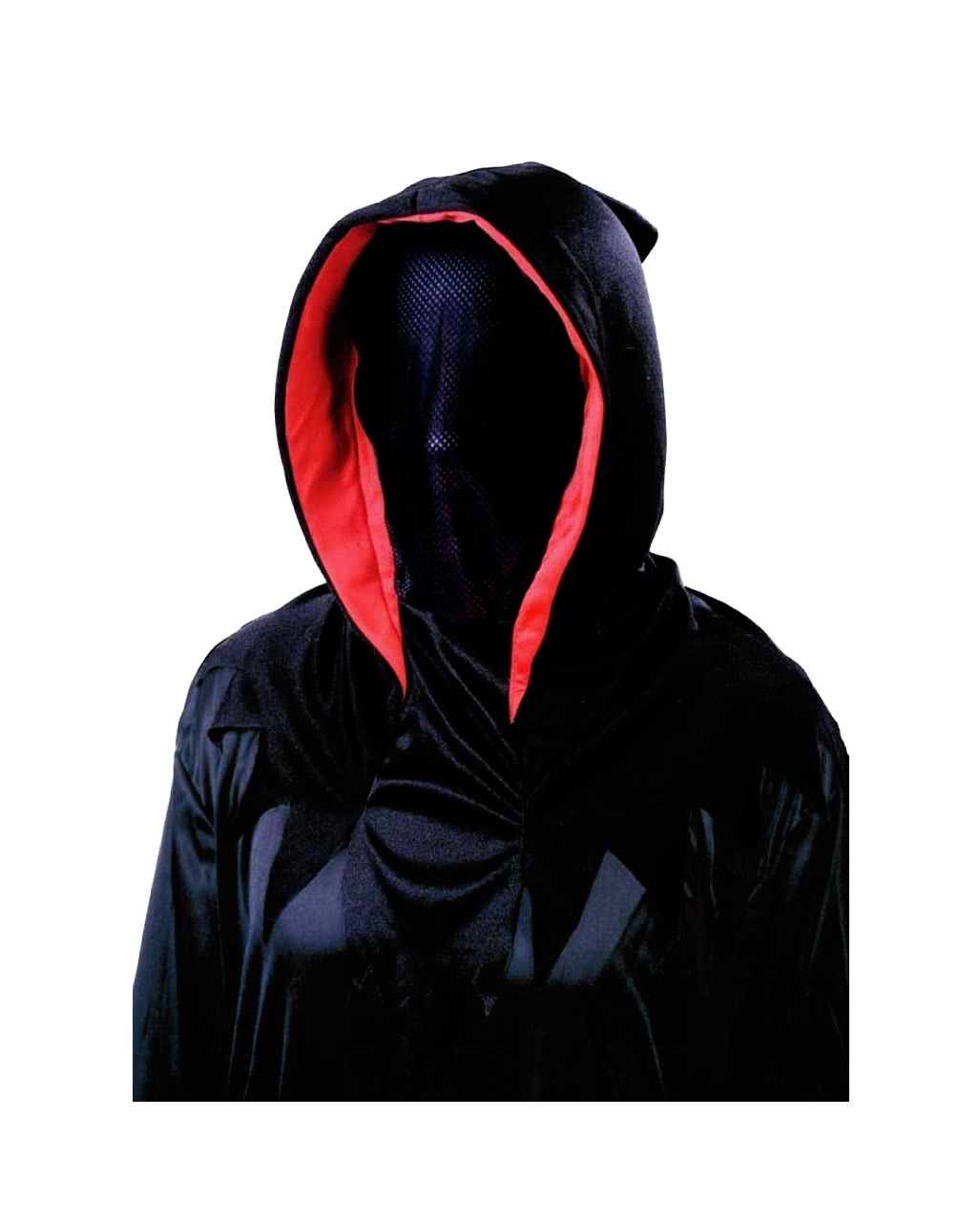 Invisible Phantom Mask Deluxe | Halloween mask hood fabric ...