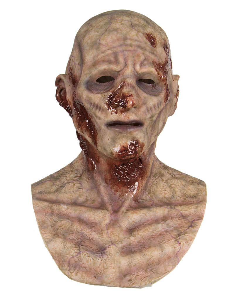 Meat Wounds Zombie Silicone Mask Buy Zombie Masks | horror-shop.com