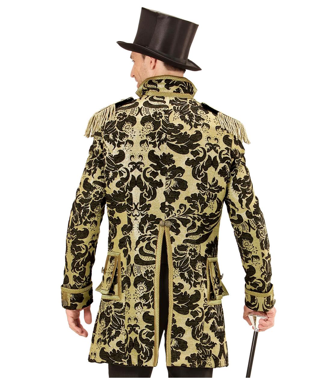Venetian military dress suit gold-black ✩ | horror-shop.com