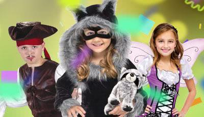 Karnevalskostüme Kinder