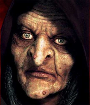 Swamp Witch Foamlatex mask
