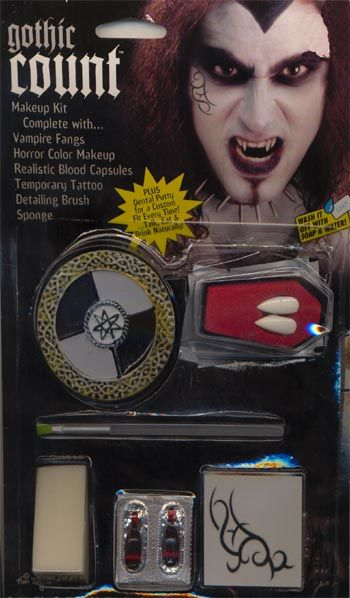 Vampir Count Make Up Kit