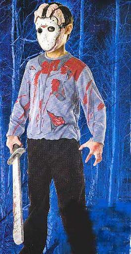 Jason Kinder Shirt und Maske
