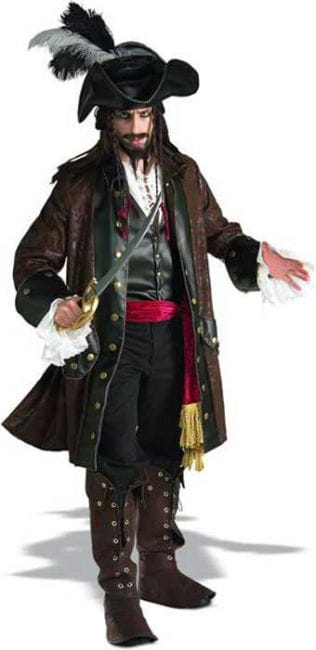 Caribbean Piratenkostüm Deluxe