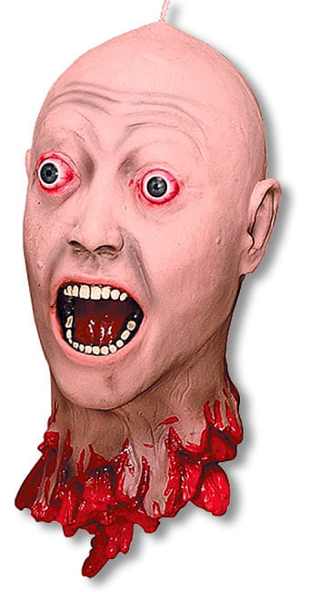 Cut off Head mit realistic Augen