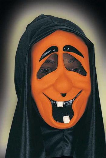 Lustige Geistermaske Orange Zahny