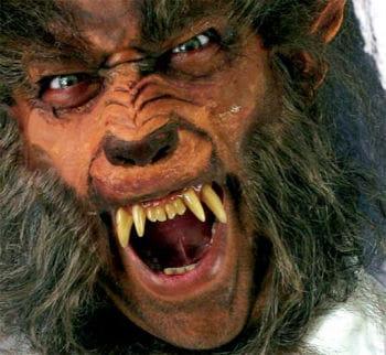 Werewolf teeth Deluxe
