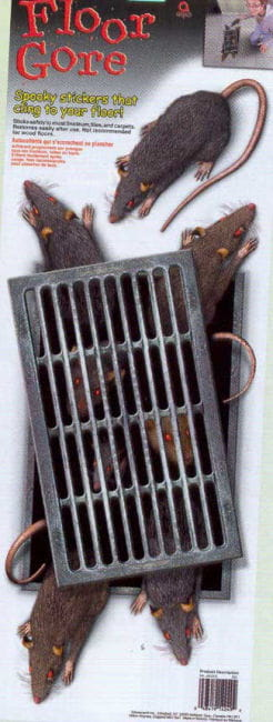 Ratten Bodenfolie
