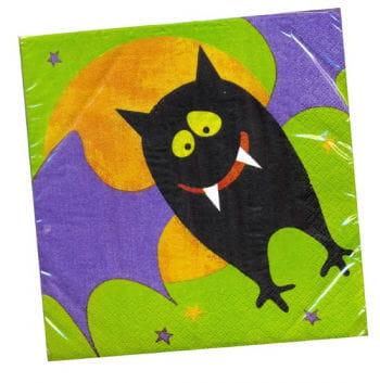 Happy Fledermaus Halloween Servietten