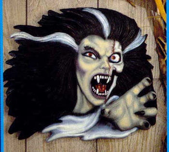 Vampirfrau Wandbild