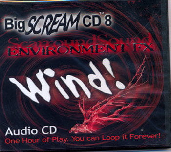 Wind and storm Sound CD