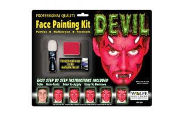 Teufel Komplett Make Up Set