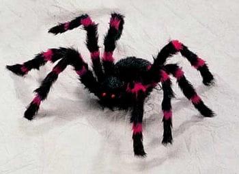 Riesen Monster Spinne Rot/Schwarz Medium