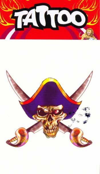 Tattoo Motif Pirate E