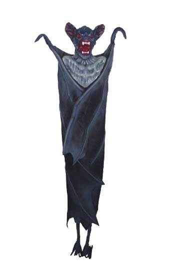 Head Down Giant Hanging Bat