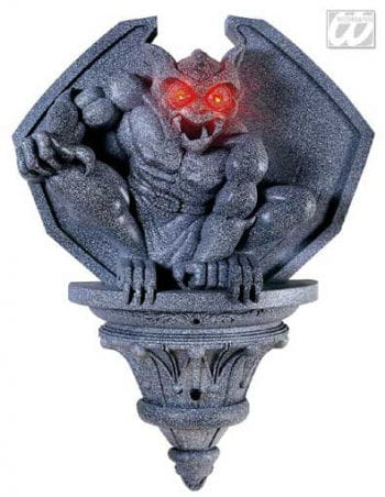 Gargoyle Wall Decoration LED Eyes