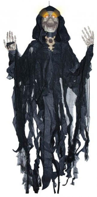 Black Hanging Ghost LED 150cm