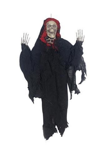 Creepy Reaper Red Hanging Prop 45cm
