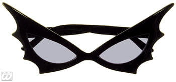 Bat Woman Sun Glasses Blue