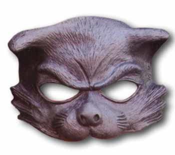 Tricky Kitty Half Mask