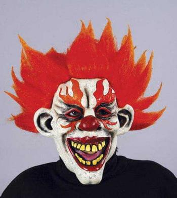 Teuflischer Höllenfeuer Clown Maske