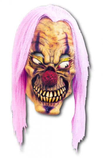 Purple Acid Clown Mask