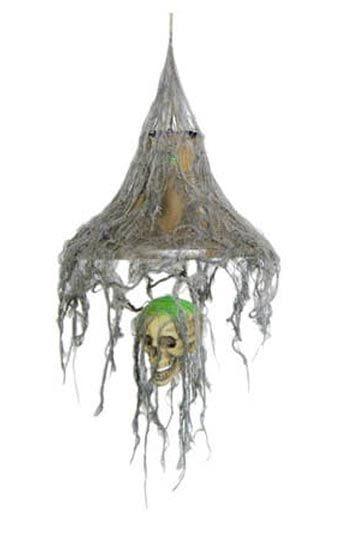 Rotten Skull LED Hanging Lamp