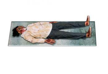 Roadkill Zombie corpse