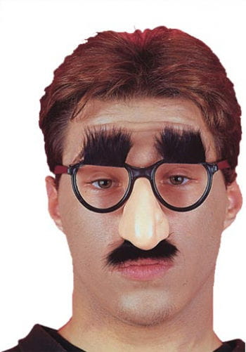 Joke nose eyebrows and glasses