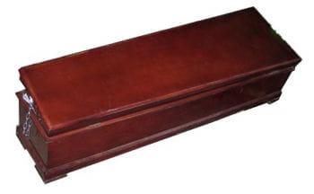 Italian Coffin Lacquer Lacquered