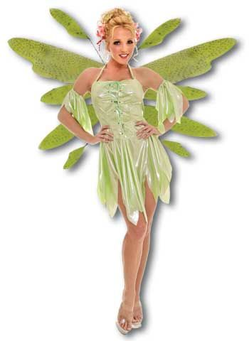 Wood Elf Costume Green Small